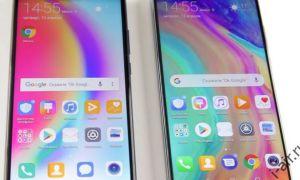 Сравнение Huawei P20 и P20 LIGHT