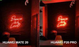 Сравнение Huawei MATE 20 и P20 PRO