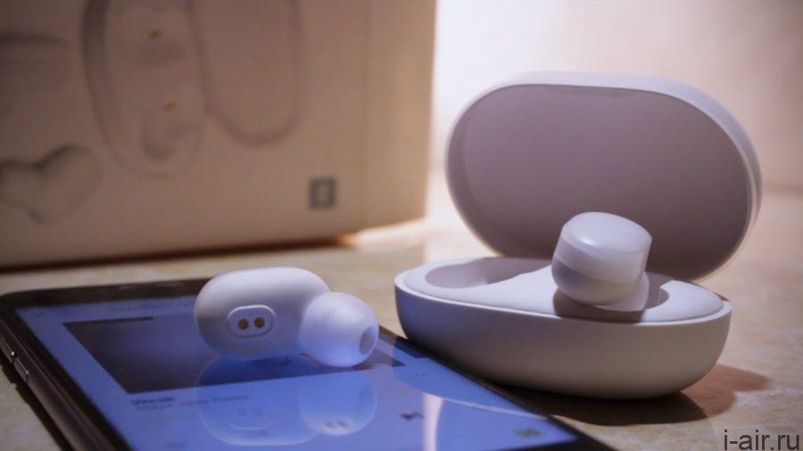 Наушники Mi AirDots аналог Apple AirPods